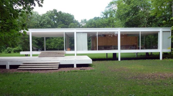 ファンズワース邸 ミース・ファン・デル・ローエ Farnsworth House Mies van der Rohe
