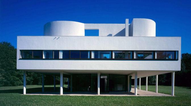 サヴォア邸 ル・コルビジェ Villa Savoye  Le Corbusier